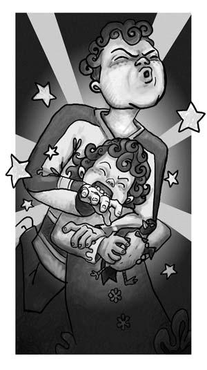 tu me feras pas peur, illustration d'Alexandre Girard
